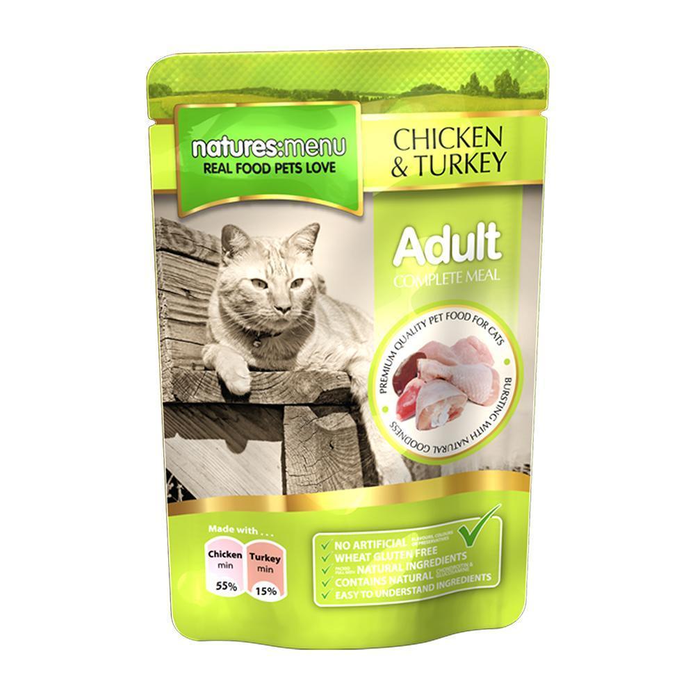 Natures Menu für Katzen - Huhn & Pute 100g