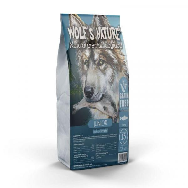 Wolf's Nature ® Junior Lachs & Kartoffel