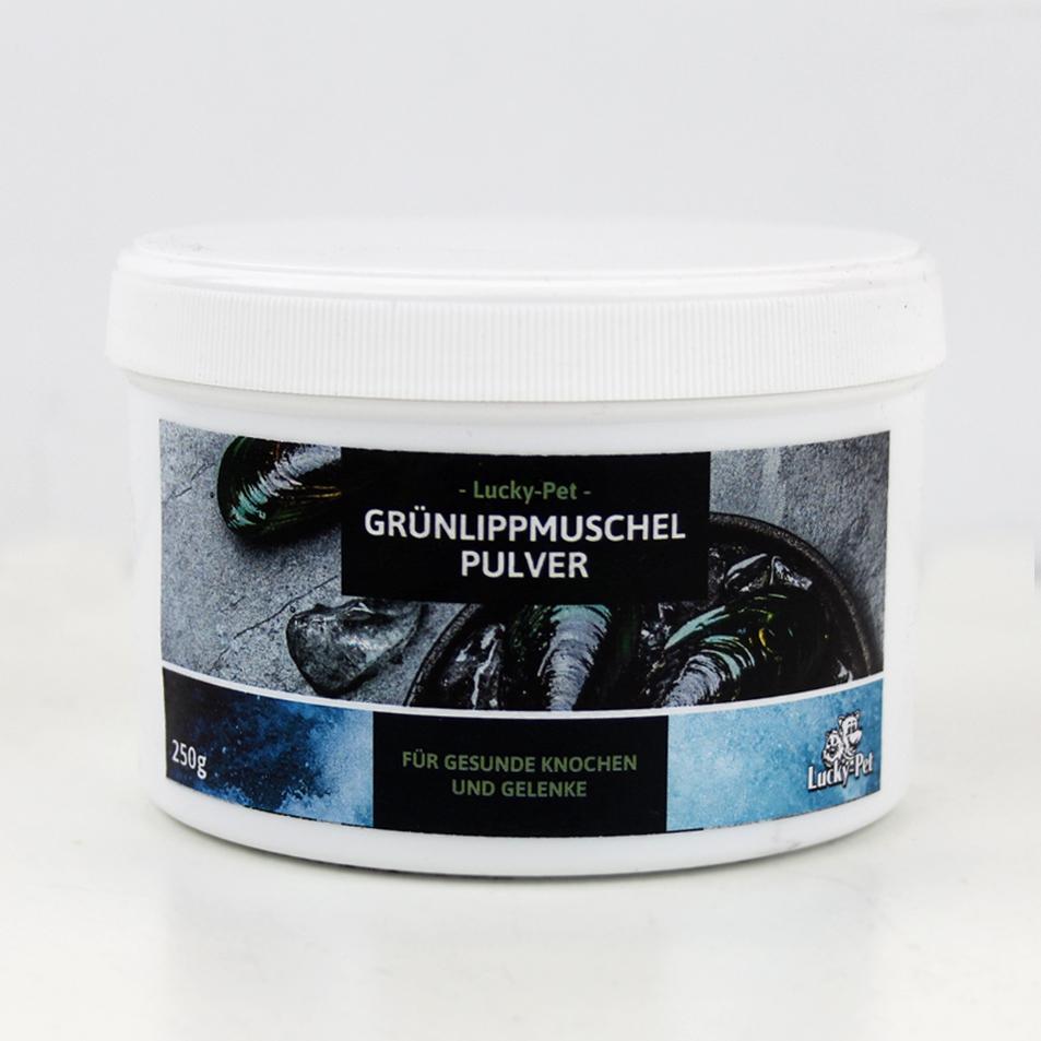 Lucky-Pet reinstes Grünlippmuschel-Pulver 250 g
