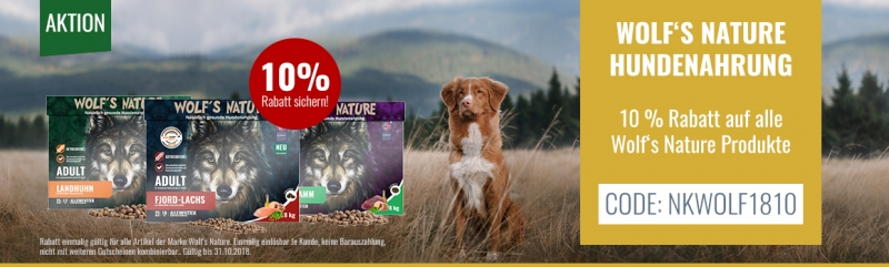 wolf s nature hundefutter