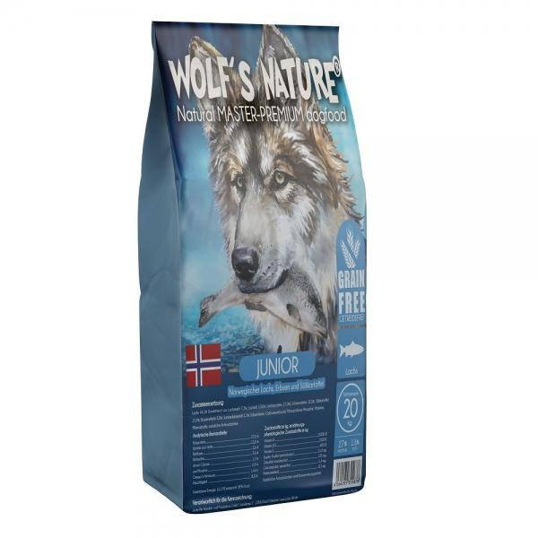 Wolf's Nature Junior, Lachs aus Norwegen
