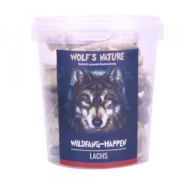 Wolf´s Nature Wildfang Happen - Lachs 75 g