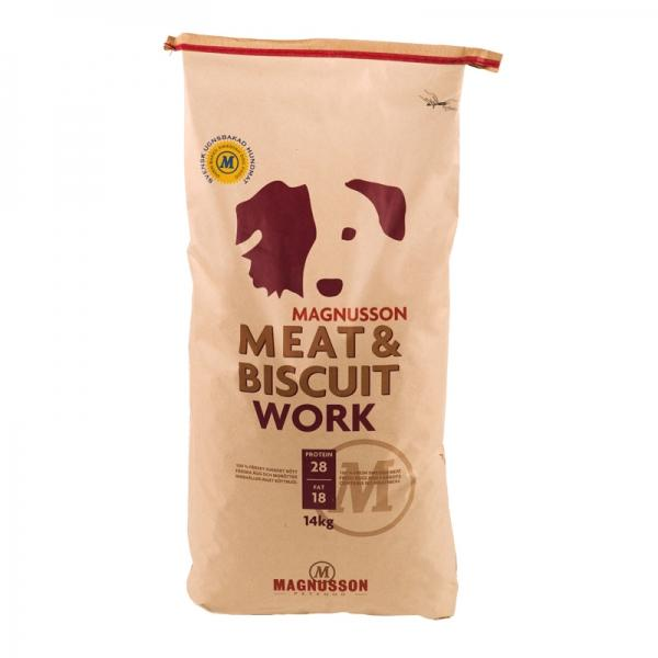 Magnusson Petfood Meat und Biscuit WORK
