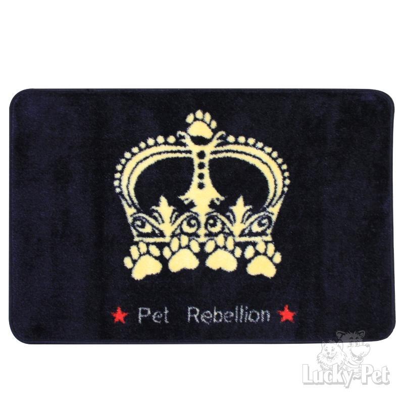 Pet Rebellion Kofferraummatte Krone