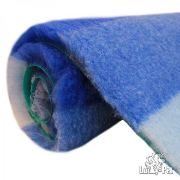 Lucky-Pet Supervlies streifenblau