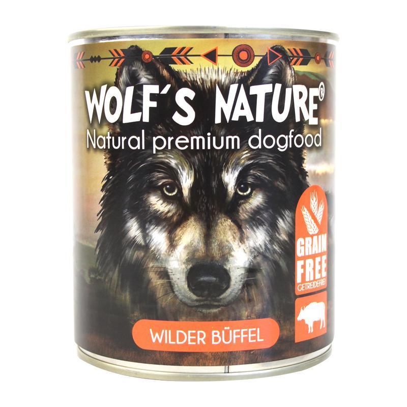 Wolf´s Nature ® Wilder Büffel 800 g